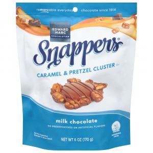 Snappers Milk Chocolate Caramel Pretzel