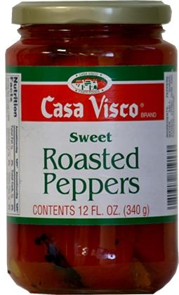 Casa Visco Roasted Peppers