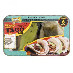 Diced Chicken Breast Taco Kit