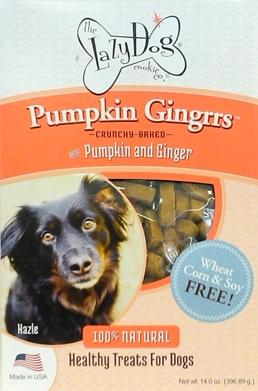 Lazy Dog Cookie Co. Inc Pumpkin Gingerrs
