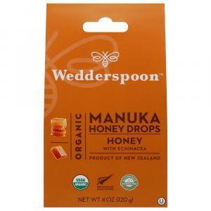 Wedderspoon Organic Manuka Honey Drops Honey