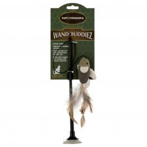 Ruff & Whiskerz Natural Wand Buddiez Cat Toy