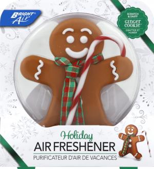 Bright Air Ginger Cookie Holiday Air Freshener