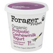 Forager Organic Cashewmilk Yogurt Vanilla Bean