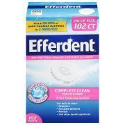 Efferdent Original Antibacterial Denture Cleaner Tablets