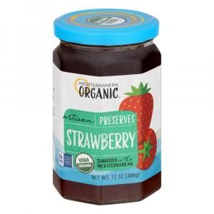 Mediterranean Organic Strawberry Preserves