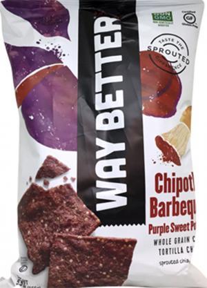 Way Better Chipotle BBQ Purple Sweet Potato Tortilla Chips