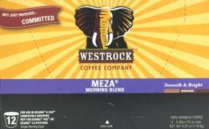 Westrock Meza Morning Blend Single Serve Coffee