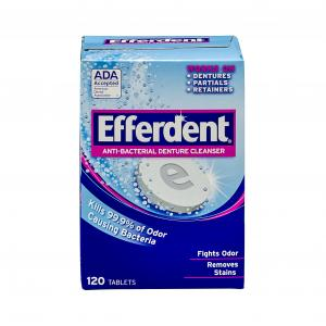 Efferdent Original Antibacterial Denture Cleaner