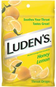 Luden's Honey Lemon Throat Drops
