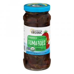 Mediterranean Organic Sun Dried Tomatoes in Olive Oil
