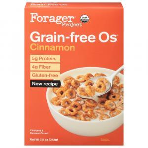 Forager Organic Grain Free Cinnamon O's Cereal