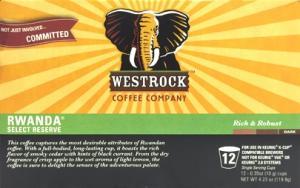 Westrock Rawanda Select Reserve Single Serve Coffee