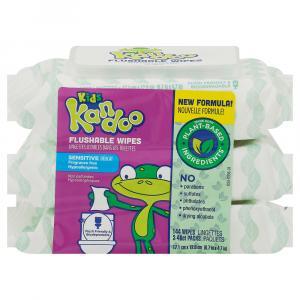 Kandoo Toddler Wipes Tub