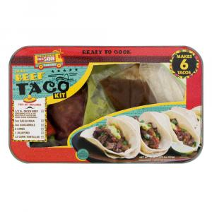 Diced Beef Taco Kit