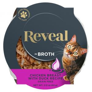 Reveal Chicken with Duck Cat Food