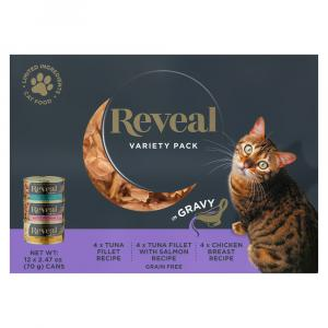Reveal Multipack Variety Gravy Canned Cat Food