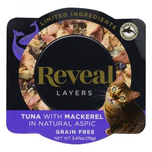 Reveal Layers Tuna with Mackerel Cat Food