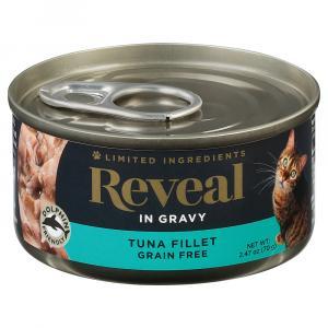 Reveal Tuna Fillet in Gravy Grain Free Canned Cat Food