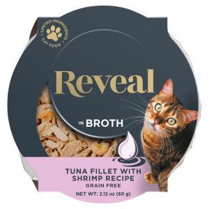 Reveal Tuna with Shrimp Cat Food