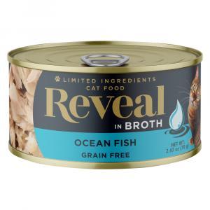 Reveal Ocean Fish Grain Free Canned Cat Food