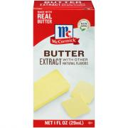 McCormick Imitation Butter Flavored Extract