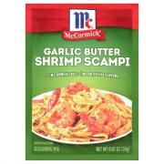 McCormick Shrimp Scampi Garlic Butter