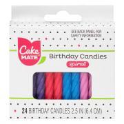 Cake Mate Spiral Candles