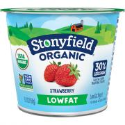 Stonyfield Organic Low Fat Strawberry Blends