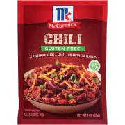 McCormick Gluten-Free Chili Seasoning Mix