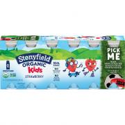 Stonyfield Organic Kids Strawberry Smoothie
