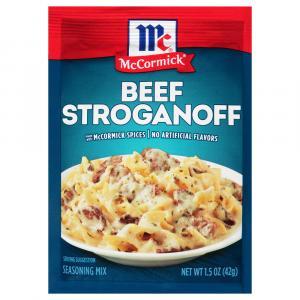 McCormick Beef Stroganoff Sauce Mix
