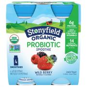 Stonyfield Organic Wildberry Smoothie