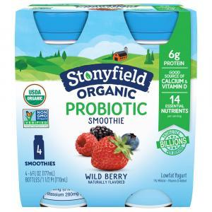 Stonyfield Organic Wildberry Smoothie