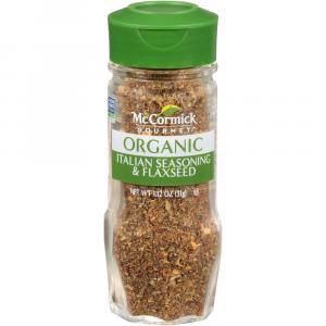 McCormick Gourmet Organic Italian Seasoning with Flaxseed