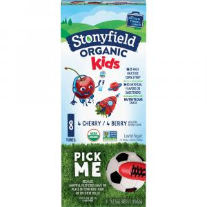 Stonyfield Organic Kids Cherry Berry Yogurt