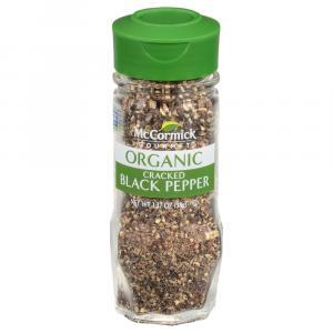 McCormick Gourmet Organic Cracked Black Pepper