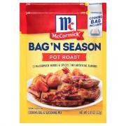 McCormick Pot Roast Bag 'n Season