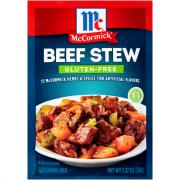 McCormick Gluten-Free Beef Stew Seasoning Mix