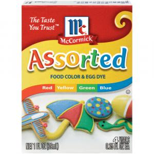 McCormick Assorted Food Coloring