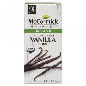 McCormick Organic Vanilla Extract