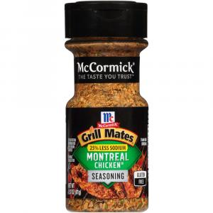 Mccormick Grill Mates Montreal Chicken 25% Less Sodium
