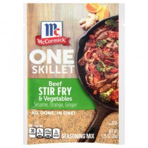 McCormick One Skillet Beef Stir Fry & Vegetables