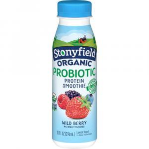 Stonyfield Organic Wild Berry Smoothie