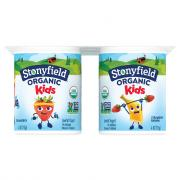 Stonyfield Organic Kids Strawberry & Strawberry Banana