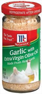 Mccormick Garlic W/extra Virgin Olive Oil