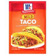 McCormick Mild Taco Seasoning Mix