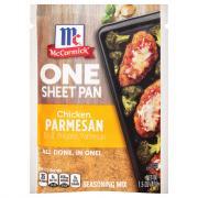 McCormick One Sheet Pan Chicken Parmesan Seasoning Mix