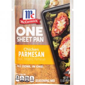 McCormick One Sheet Pan Chicken Parmesan Seasoning Mix