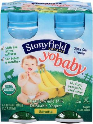Stonyfield Organic Banana Yogurt Drink